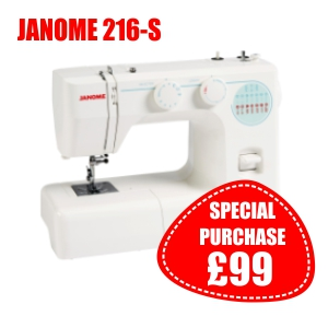 Janome 216-S Spring Offer