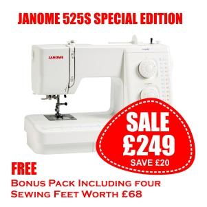 Janome 525S-SE Spring Offer