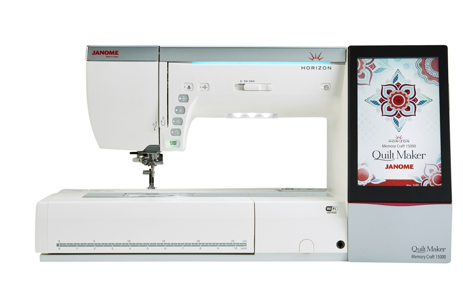 Janome Horizon Memory Craft 15000 Quilt Maker