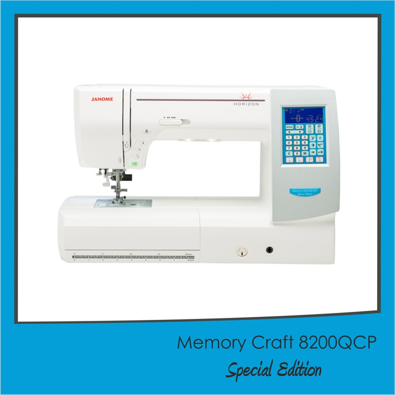 TRADE-IN OFFER - Janome Memory Craft 8200QCP Special Edition